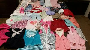 Clothes for girls 6-12 m for Sale in Everett, WA