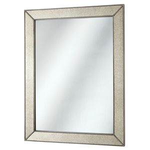 23 in. x 30 in. Framed Fog Free Wall Mirror in Silver for Sale in Las Vegas, NV