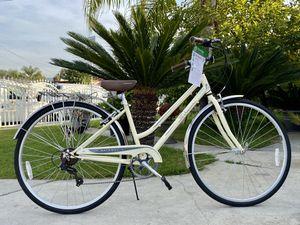 """Schwinn Women's Gateway 28"""" 700c Hybrid Bike - Cream for Sale in Azusa, CA"""