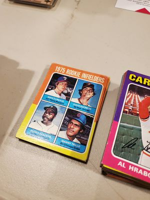 1975 Topps Baseball Cards for Sale in Clackamas, OR