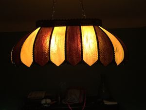 Tiffany chandelier pool table light for Sale in Maple Heights, OH