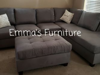 Brand New!!gorgeous 3pc Gray Sectional for Sale in Glendale,  AZ