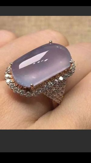 Turkish design Size 8 Fashion 925 Silver Purples Moonstone Ring Women for Sale in Richmond, CA