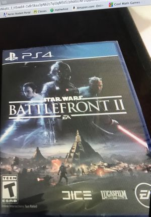 Battlefront 2 for ps4 for Sale in Upland, CA