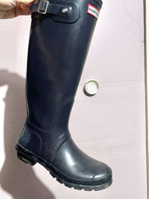 Navy Blue Tall Hunter Boots for Sale in Kent, WA