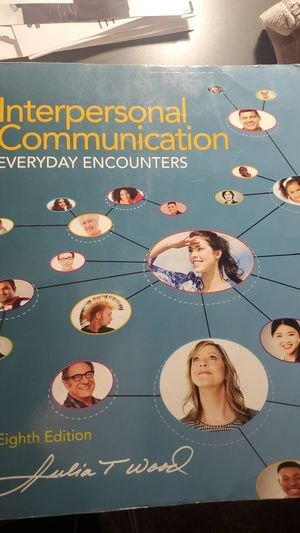 Interpersonal Communication textbook for Sale in Chino, CA