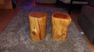 BEAUTIFUL Solid Pine Wood End Tables for Sale in Whitehall, OH
