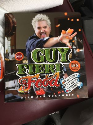 Guy fieri food book for Sale in Durham, NC