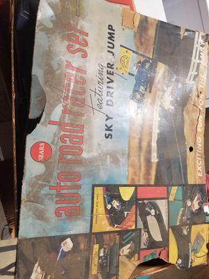 Vintage auto road racer set for Sale in Norwalk, CA