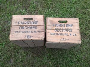 Apple crates for Sale in Bunker Hill, WV