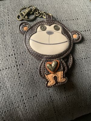 Monkey Chala charm for purse new for Sale in San Bernardino, CA
