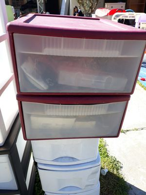 Plastic drawer for Sale in Fresno, CA