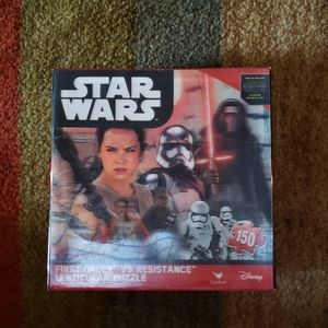 Star Wars Puzzles Box Toys Puzzles Games Disney's Star Wars NEW. MAKE ME AN OFFER!!! for Sale in Muscoy, CA