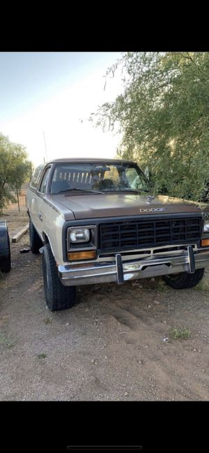 1984 Dodge RamCharger for Sale in Fort McDowell, AZ