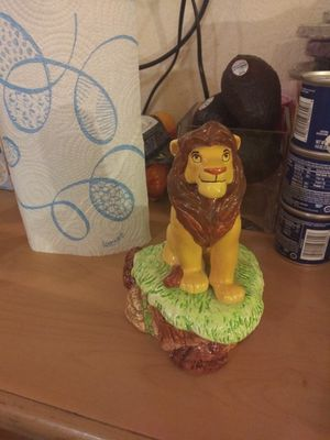 """Disney's """"The Lion King"""" Simba musical figurine for Sale in Humble, TX"""