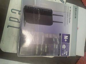 New Belkin Wireless N+ Router new for Sale in Palm Beach, FL