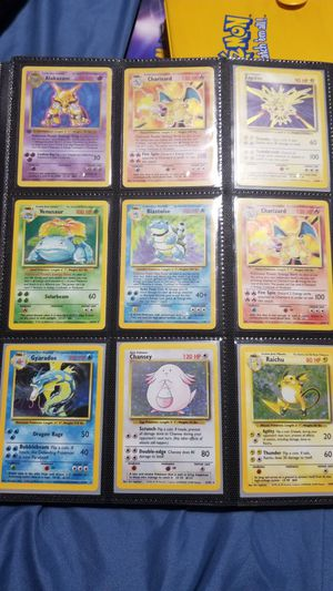 Vintage Pokemon Cards - Charizard, Blastoise, Venusaur and More for Sale in Fort Worth, TX