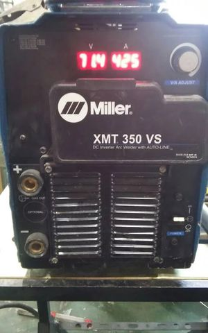 Miller XMT-350 VS DC inverter arc welder w/ auto line for Sale in Atlanta, GA