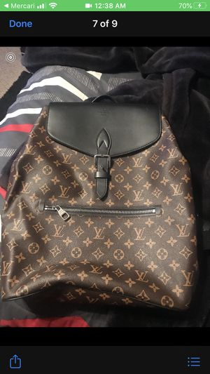 Louis Vuitton backpack men for Sale in McDonough, GA