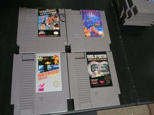 Original Nintendo Games lot 2 for Sale in San Bernardino, CA