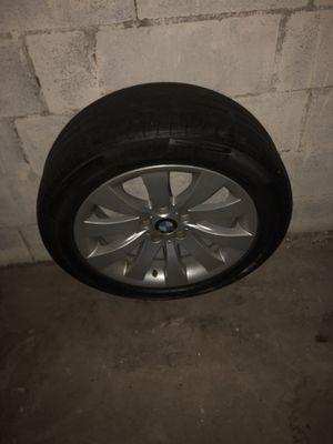 Bmw rims w tires size 18 for Sale in Brooklyn, NY
