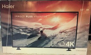 Model Number-55E5500U Product-Haier 55-inch 4K Ultra HD LED Tv for Sale in Mount Rainier, MD