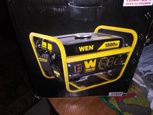 New WEN 56180 1800-Watt Portable Generator for Sale in Toledo, OH