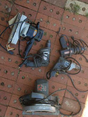 Craftsman, Black & Decker vintage tools for Sale in Midland, TX