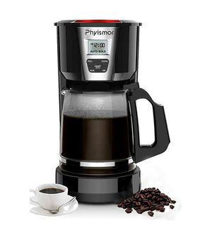 Coffee Maker, 12 Cups Programmable Drip Coffee Machine with Glass Pot, Anti-Drip for Sale in Arlington, TX