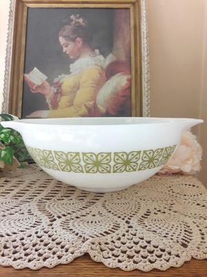 Vintage Pyrex #444 Verde Green Flower Cinderella Bowl for Sale in DeKalb, IL