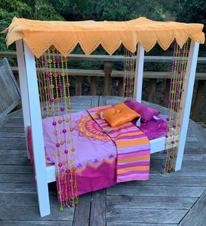 American Girl Doll Wooden Framed Bed for Julie for Sale in Mill Valley, CA
