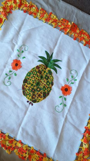 Embroidery Decoration (pineapple) for Sale in Bryan, TX
