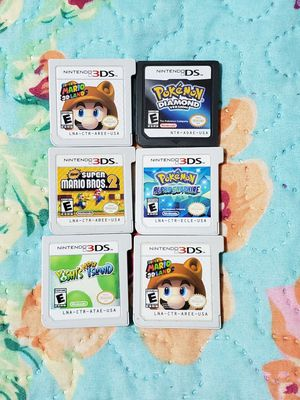 Pokemon Mario yoshi nintendo 3ds/ds bundle for Sale in Bronx, NY