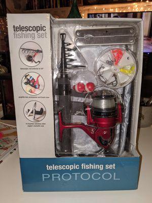Protocol Telescopic Fishing Set for Sale in Dumfries, VA