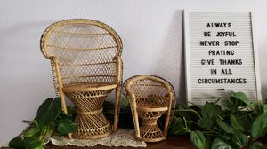 2 wicker chairs for Sale in Palmdale, CA