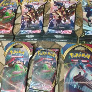Brand New Pokemon Sword And Shield Booster Packs $4 Each Unopened for Sale in Orlando, FL
