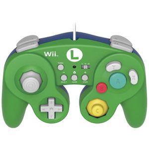 HORI Battle Pad for Wii U (Luigi Version) with Turbo - Nintendo Wii U (BRAND NEW) for Sale in Azusa, CA