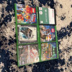 Minecraft Xb1, Lego Jurassic World, Minecraft Season Two Story Mode, Lego Movie, Batman Return To Arkham, Ghostbusters for Sale in Ridgefield,  WA