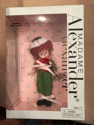 Brand new Madame Alexander Holiday Raggedy Andy for Sale in Moundsville, WV