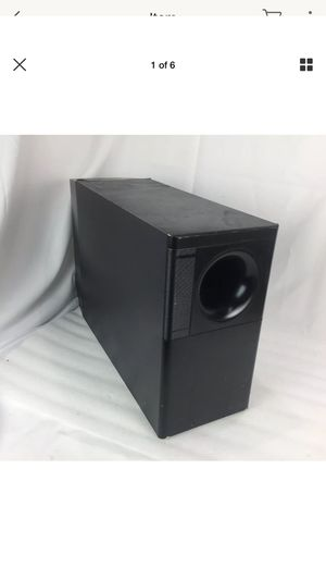Bose lifestyle 20 powered speaker system subwoofer for Sale in Irvine, CA