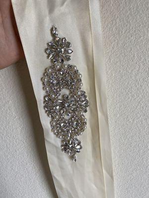 Rhinestone Wedding Sash/Belt for Sale in Cibolo, TX