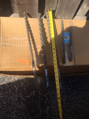 Concrete drill bit In excellent condition 80 for Everything for Sale in Westmont, IL