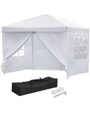 Popup easy up party tent gazebo canopy 10x10 for Sale in Chicago, IL