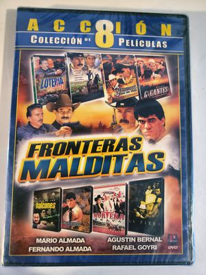 Fronteras Malditas 8 Movies De Accion DVD Nueva for Sale in Los Angeles, CA