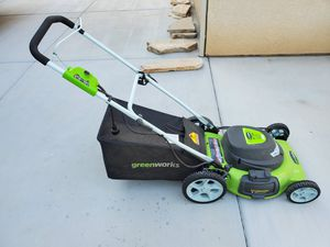 Greenworks Lawn Mower, Leaf Blower and Trimmer for Sale in Clovis, CA