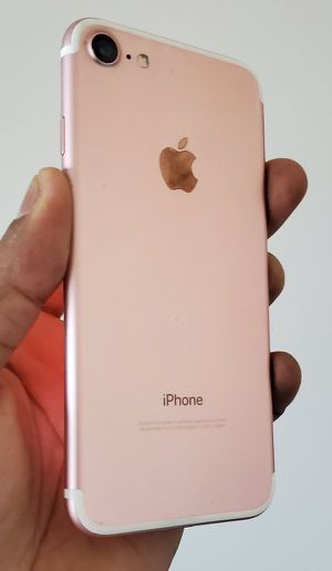 """iPhone 7 """"Factory+iCloud Unlocked Condition Excellent"""" (Like Almost New) for Sale in Springfield, VA"""