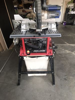 Skil saw table saw, kobalt sliding miter saw for Sale in Bakersfield, CA