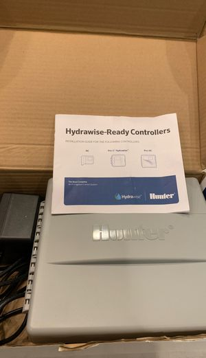 Hunter hydra wise ready controllers for Sale in Chesapeake, VA