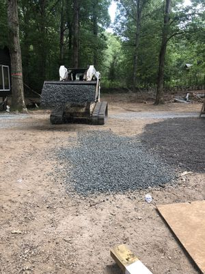 Skid steer work. We grade driveways, remove trees, clear underbrush, etc for Sale in Greenville, SC