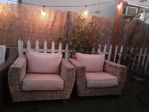 2 outdoor patio furniture chairs for Sale in Los Angeles, CA